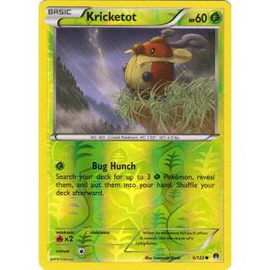 Kricketot - 5/122 (Reverse Foil)