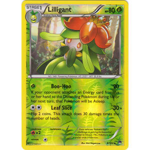 Lilligant - 8/122 (Reverse Foil)