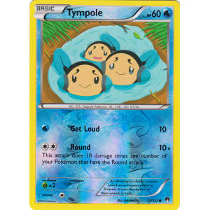 Tympole - 33/122 (Reverse Foil)