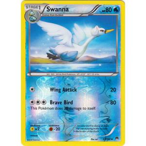 Swanna - 37/122 (Reverse Foil)