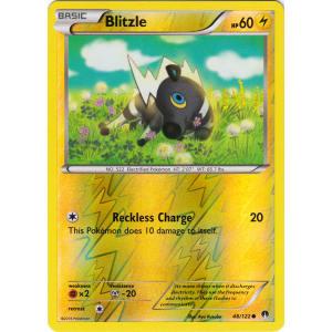 Blitzle - 48/122 (Reverse Foil)
