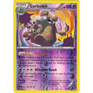 Garbodor - 57/122 (Reverse Foil)