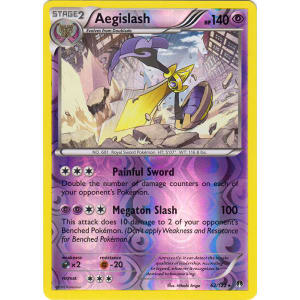 Aegislash - 62/122 (Reverse Foil)