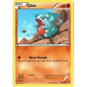 Gible - 68/122
