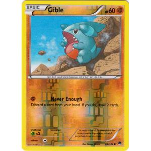 Gible - 68/122 (Reverse Foil)