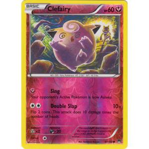 Clefairy - 81/122 (Reverse Foil)