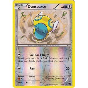 Dunsparce - 90/122 (Reverse Foil)