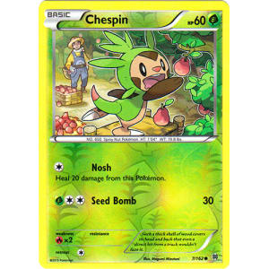 Chespin - 7/162 (Reverse Foil)