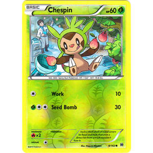 Chespin - 8/162 (Reverse Foil)