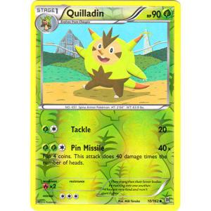 Quilladin - 10/162 (Reverse Foil)