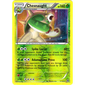 Chesnaught - 11/162 (Reverse Foil)