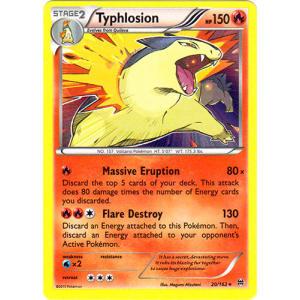 Typhlosion - 20/162