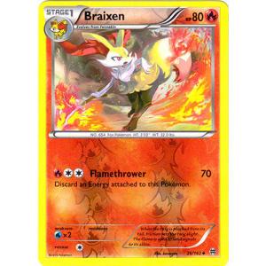 Braixen - 26/162 (Reverse Foil)
