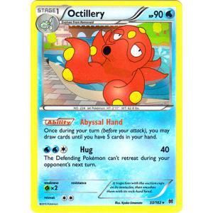 Octillery - 33/162 (Holo Rare)