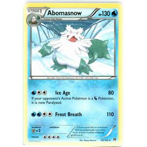 Abomasnow - 40/162