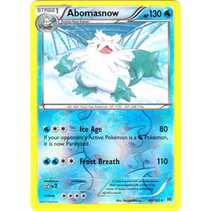 Abomasnow - 40/162 (Reverse Foil)