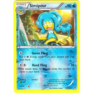 Simipour - 42/162 (Reverse Foil)