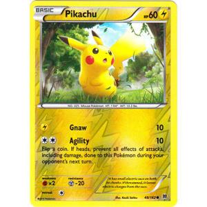 Pikachu - 48/162 (Reverse Foil)