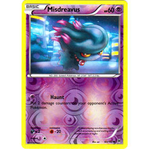Misdreavus - 65/162 (Reverse Foil)