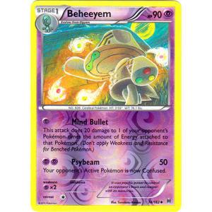 Beheeyem - 74/162 (Reverse Foil)