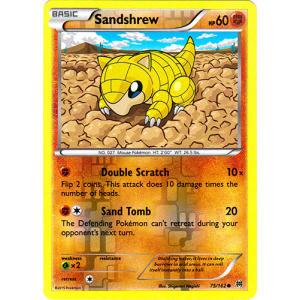 Sandshrew - 75/162 (Reverse Foil)