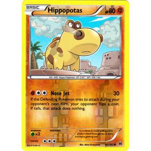 Hippopotas - 83/162 (Reverse Foil)