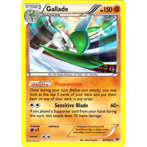 Gallade - 84/162