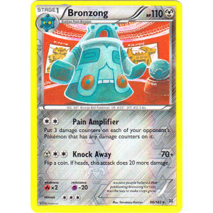 Bronzong - 96/162 (Reverse Foil)