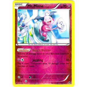 Mr. Mime - 97/162 (Reverse Foil)