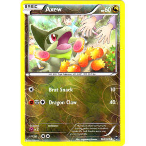 Axew - 108/162 (Reverse Foil)