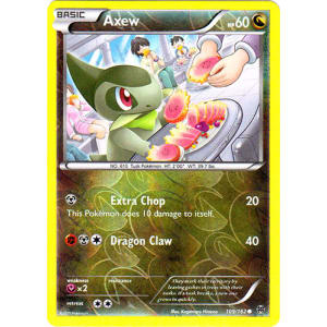 Axew - 109/162 (Reverse Foil)