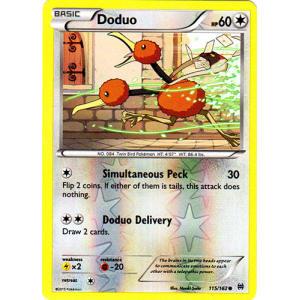 Doduo - 115/162 (Reverse Foil)