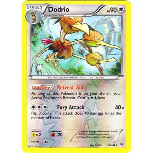 Dodrio - 117/162 (Reverse Foil)