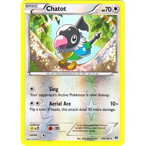 Chatot - 128/162 (Reverse Foil)