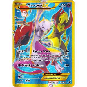 Mewtwo-EX (Secret Rare) - 163/162