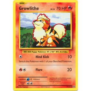 Growlithe - 17/108