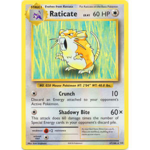 Raticate - 67/108