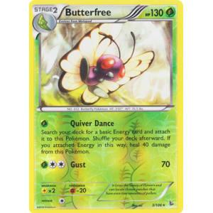 Butterfree - 3/106 (Reverse Foil)