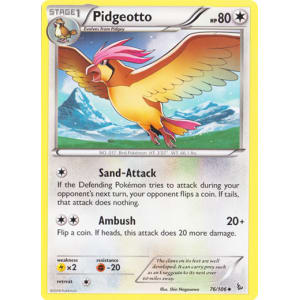 Pidgeotto - 76/106