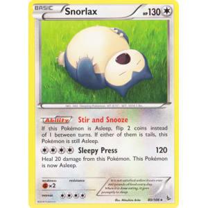 Snorlax - 80/106