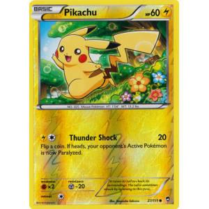 Pikachu - 27/111 (Reverse Foil)