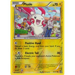 Plusle - 31/111 (Reverse Foil)