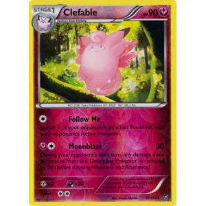 Clefable - 71/111 (Reverse Foil)