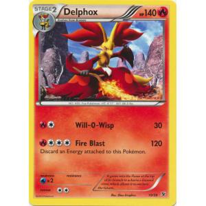Delphox - 10/39 - NON-HOLO