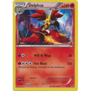 Delphox - 10/39 - HOLO