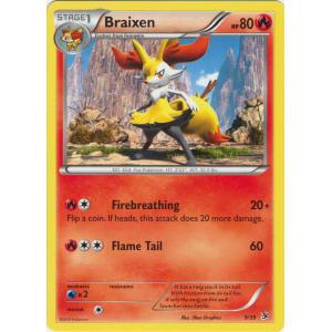 Braixen - 9/39 - NON-HOLO