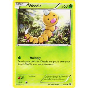 Weedle - 1/160