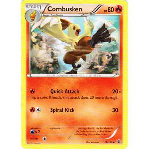 Combusken - 27/160