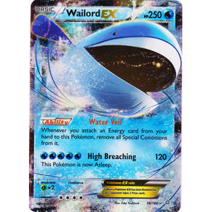 Wailord-EX - 38/160
