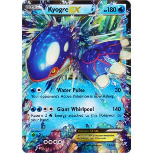 Kyogre-EX - 54/160